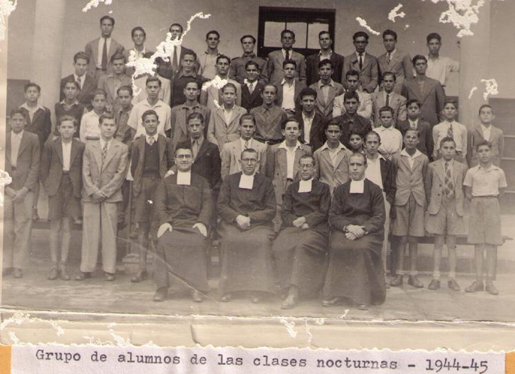 Clases nocturnas 1944