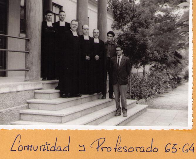 Comunidad y profesorado 1963-1964